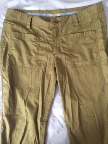 Horny Toad Joyride, Women's Pant, Olive Green, Size 8 (LIKE NEW)