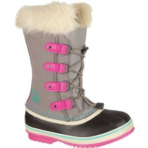 Joan Of Arctic Boot - Girls' Light Grey, 1.0 - Excellent
