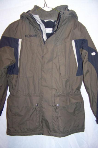 Columbia Insulated Winter Snow Ski Jacket, Youth 10/12