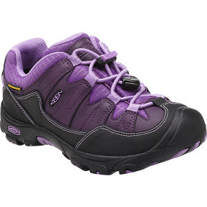 Pagosa Low WP Hiking Shoe - Little Girls' Blackberry/Bougainvillea, 8.