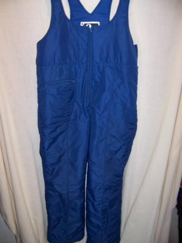 Europa Insulated Snow Ski Pants Bibs, Mens Large