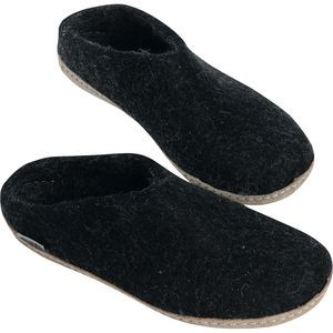 Slip-On Slipper Charcoal, 45.0 - Excellent