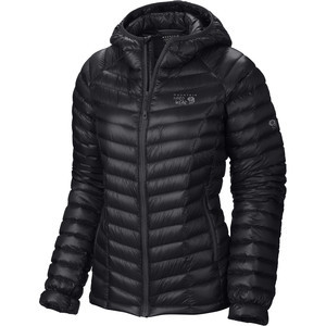 Ghost Whisperer Hooded Down Jacket - Women's Black, M - Excellent
