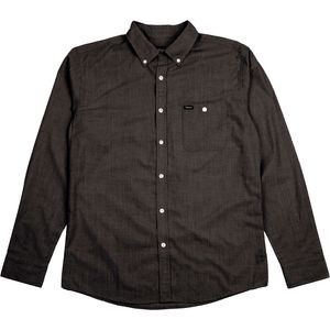 Central Woven Shirt - Long-Sleeve - Men's Black Chambray, M - Excellen