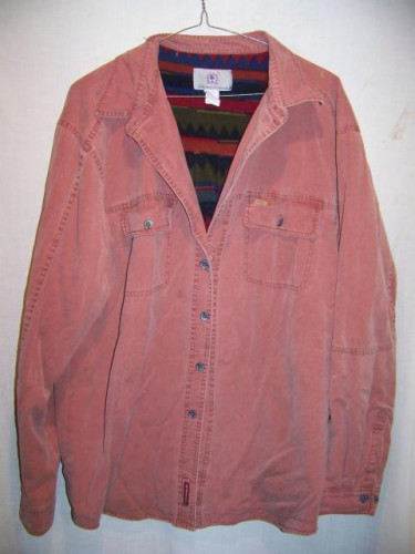 A Territory Ahead Fleece Lined Cotton Shirt Jacket, Mens XXLarge Tall
