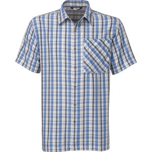 Paramount Plaid Shirt - Short-Sleeve - Men's Clear Lake Blue, L - Exce
