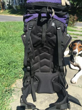 Gregory Internal Frame Backpack
