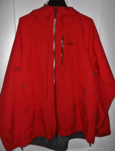 Men's Outdoor Research Gore-Tex Foray Jacket, Hot Sauce, XL