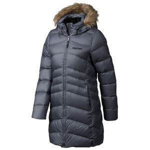 Montreal Down Coat - Women's Steel Onyx, S - Good