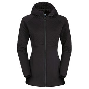 Hooded Caroluna Fleece Jacket - Women's Tnf Black, L - Excellent