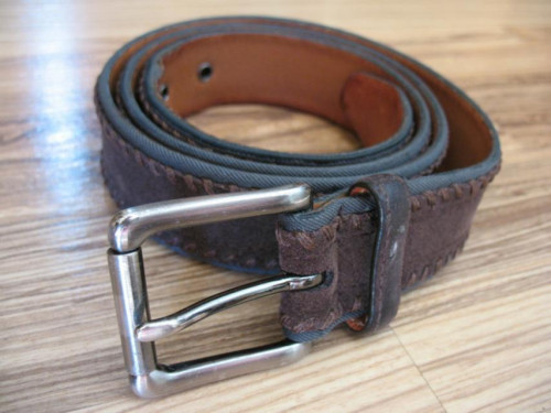 Trafalgar Suede Leather Belt