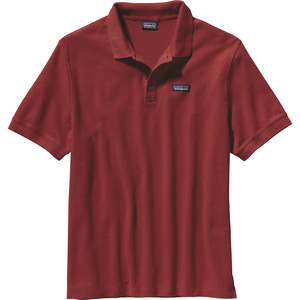 P-6 Pique Polo Shirt - Men's Cochineal Red, L - Excellent