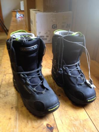 Salomon Dialogue Men's size 13 snowboarding boots