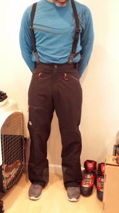 North Face Summit Series Potosi Pant Sz. Med.