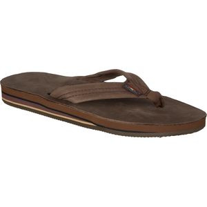 Premier Leather 302 Sandal - Men's Expresso, M - Excellent