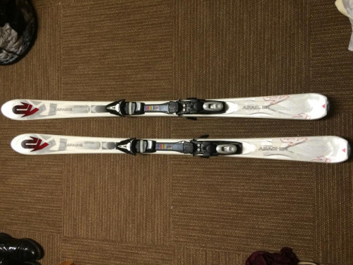 K2 Apache All-Mountain Skis with Bindings 160cm
