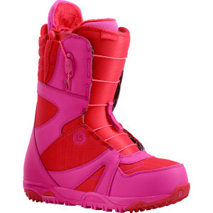 Emerald Snowboard Boot - Women's Red/Pink, 6.0 - Excellent