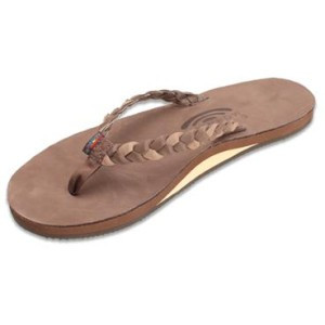 Twisted Sister Flip-Flop - Women's Expresso/Dark Brown, XL - Excellent
